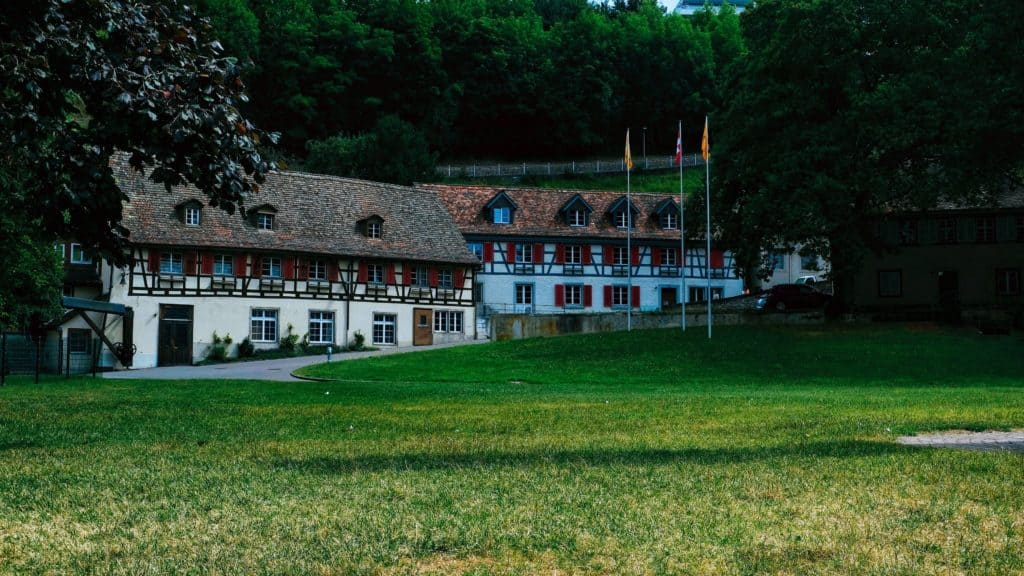 מבנה במפלי הריין