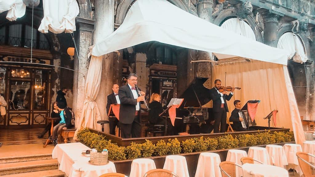 תזמורת כיכר סנט מרקו ונציה