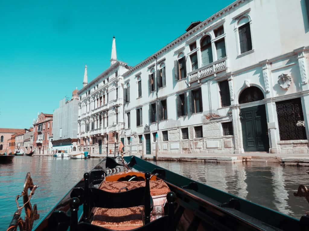 טיול בגונדולה ונציה
