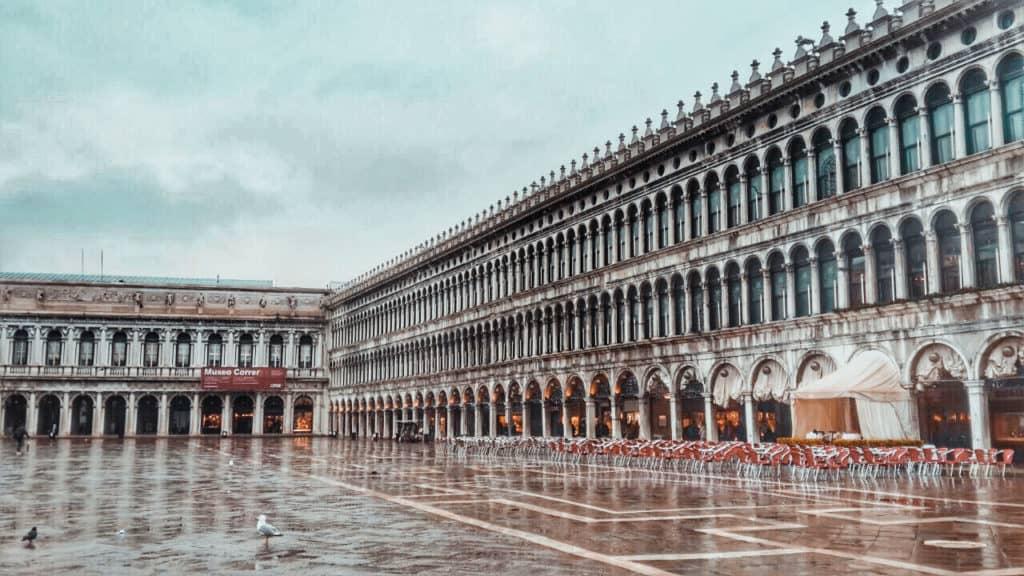 כיכר סנט מרקו ונציה