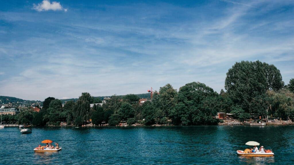 שייט אגם ציריך
