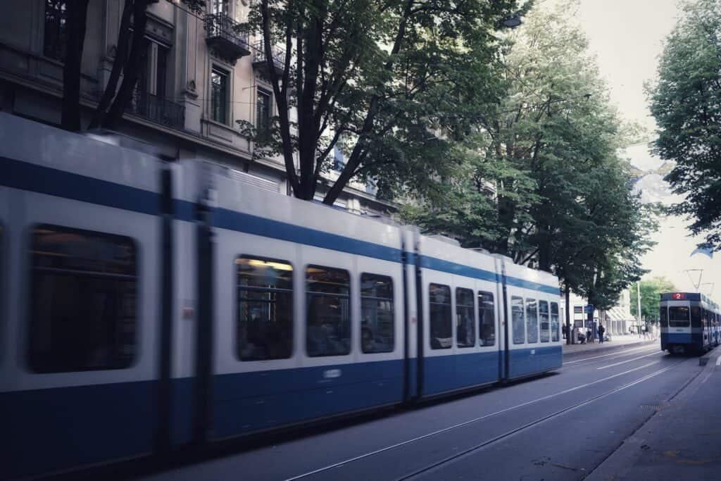 תחבורה ציבורת ציריך