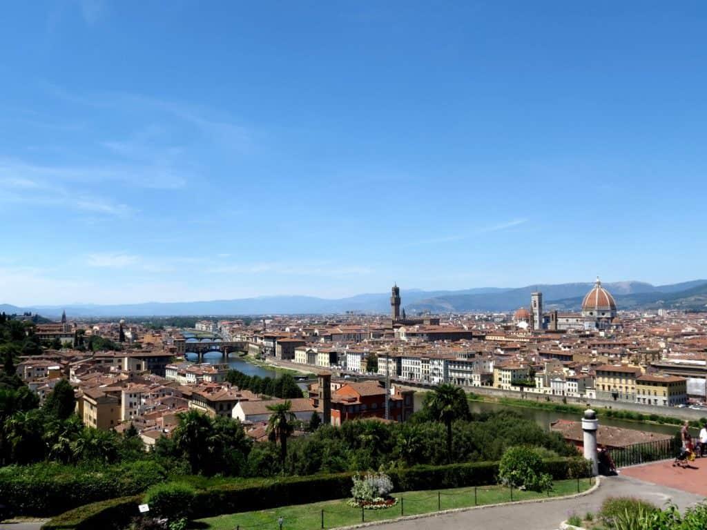 Piazzale Michelangelo פירנצה תצפית