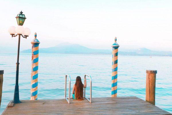 תמונת נוף אגם גרדה